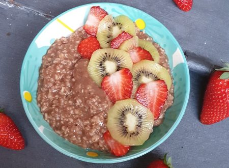 PORRIDGE ALL'ACQUA AL CACAO
