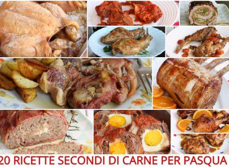 20 RICETTE SECONDI DI CARNE PER PASQUA