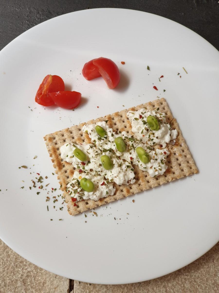 CROSTINI ALLE FAVE ricetta antipasto con fave fresche |aperitivo leggero