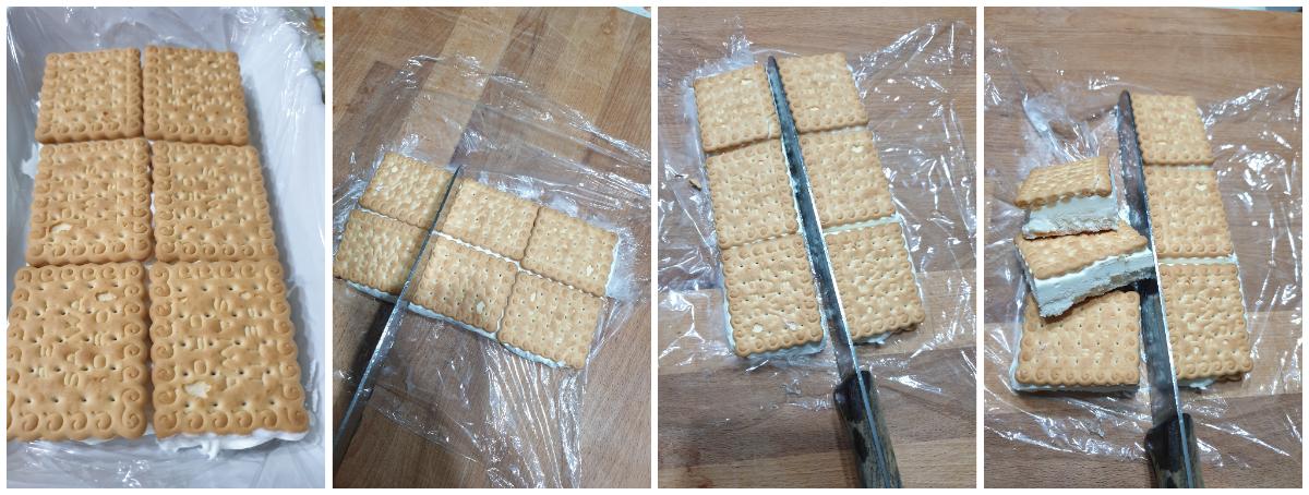 RICETTA BISCOTTI GELATO FURBISSIMI gelato furbo senza gelatiera