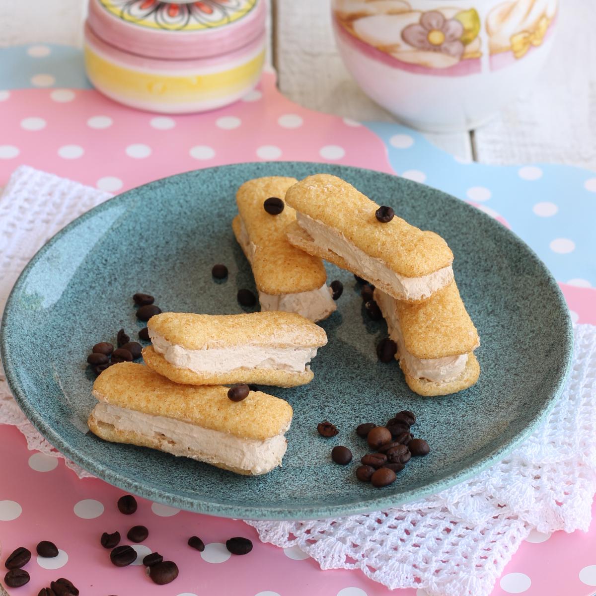 RICETTA PAVESINI GELATO AL CAFFE' gelato furbissimo senza gelatiera