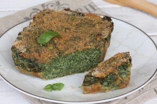 RICETTA TORTINO RICOTTA SPINACI antipasto con spinaci al forno