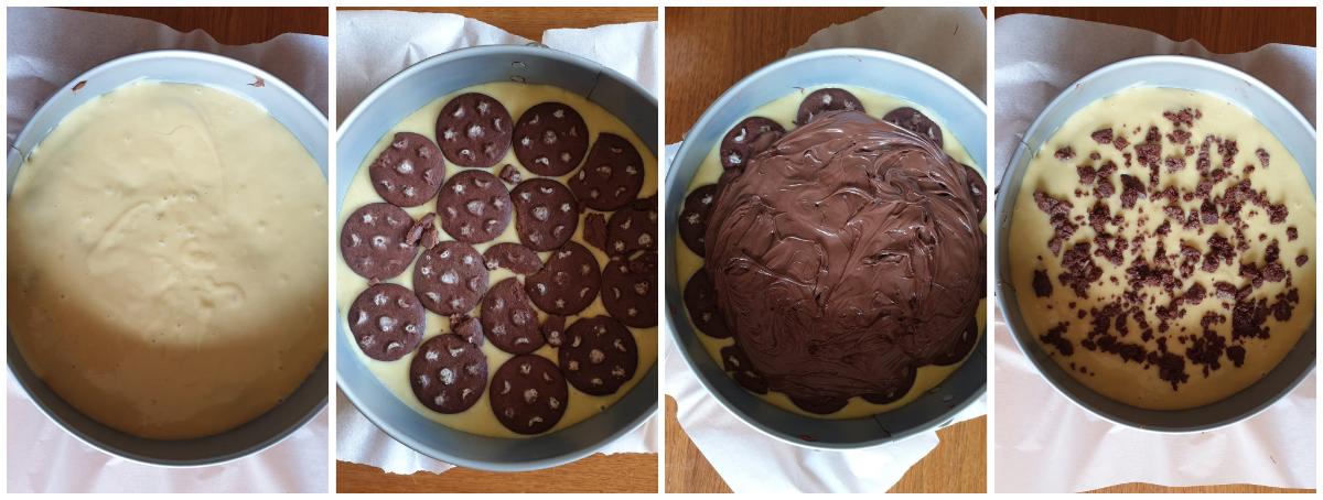 CROSTATA PAN DI STELLE VERSATA ricetta torta con impasto furbo