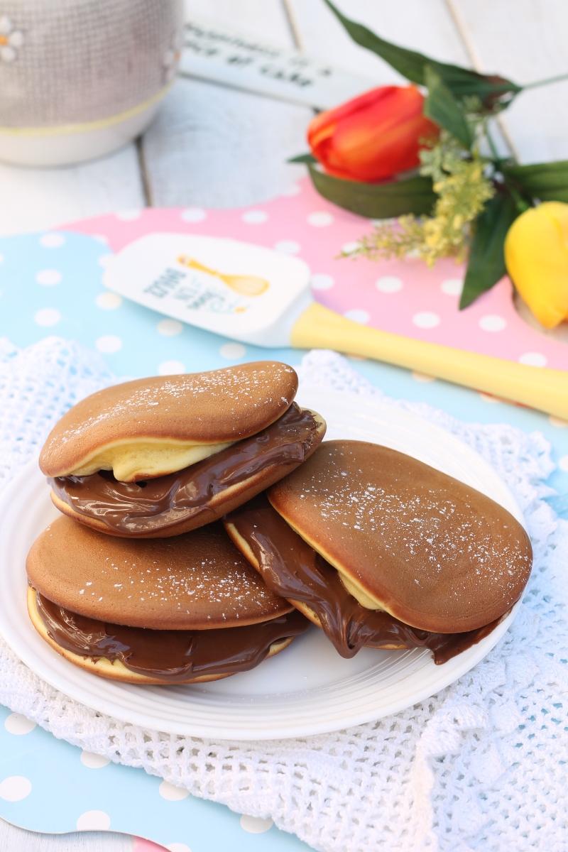 Pancakes Giapponesi Nel Frullatore Dorayaki Veloci