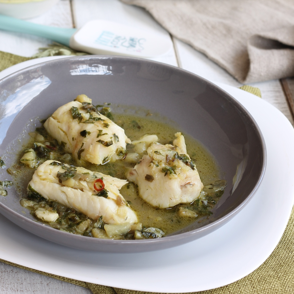 RICETTA MERLUZZO ALL'ISTRIANA secondo piatto cucina tipica dalmata