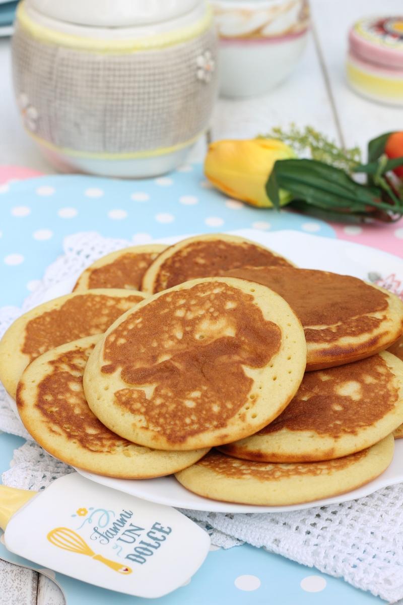 Ricetta Pancake Originali Americani.Pancakes Americani Ricetta Originale Ricetta Pancakes Perfetti