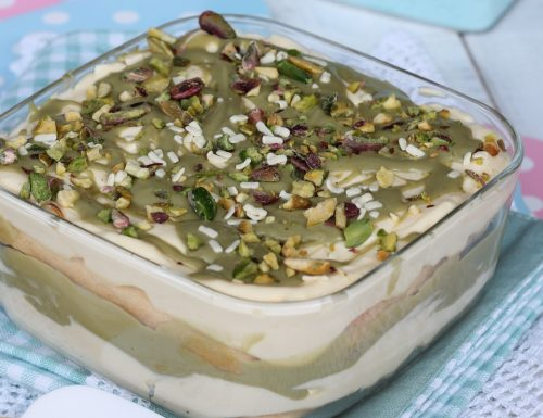 PISTACCHIOMISU' – tiramisù al pistacchio