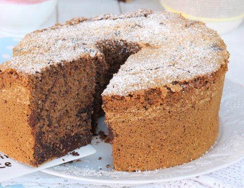 CHIFFON CAKE BICOLORE COCCO CAFFE'