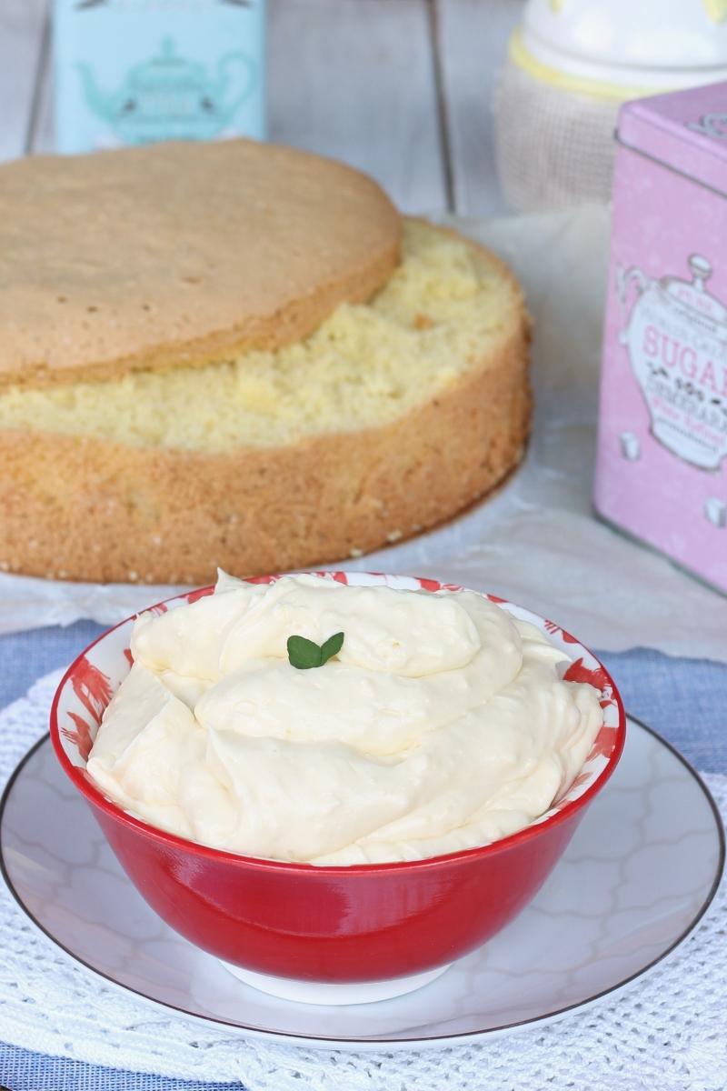 CREMA DELLA NONNA per torta di compleanno | ricetta senza bilancia