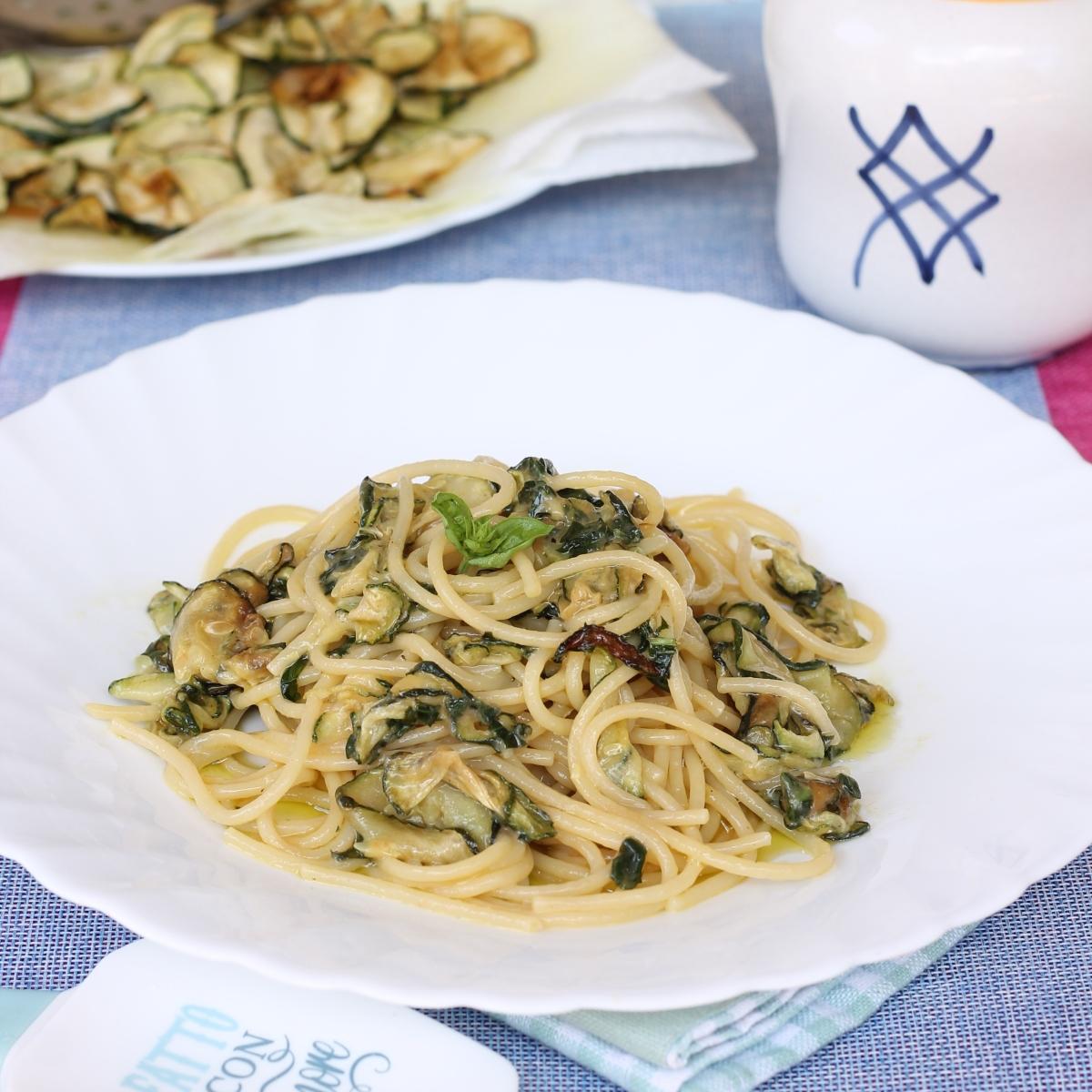 SPAGHETTI ALLA NERANO ricetta campana tipica primo piatto di pasta