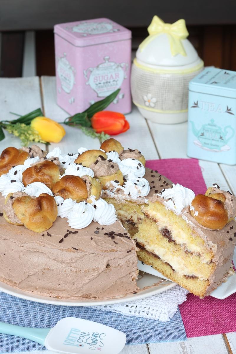 TORTA BUON COMPLEANNO mamma Pina | ricetta torta normale