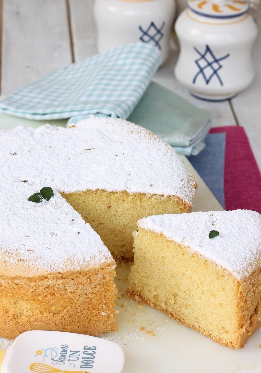 Ricetta torta margherita sofficissima | torta margherita alta e soffice