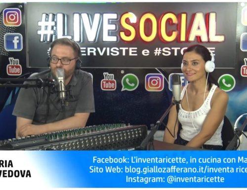 La mia prima intervista radiofonica su LIVE SOCIAL RADIO ROMA CAPITALE