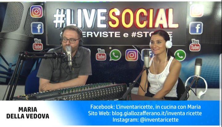 Live Social Radio Roma Capitale | Inventaricette: prima intervista in radio