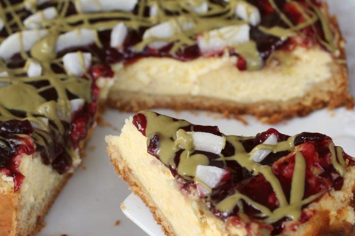 Cheesecake cotta cremosissima | ricetta cheesecake al forno senza burro