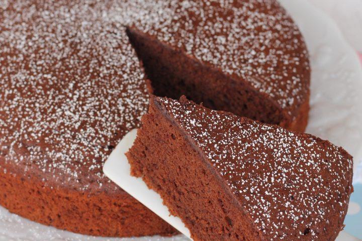 Torta cacao e panna da cucina | dolce al cioccolato con impasto alla panna