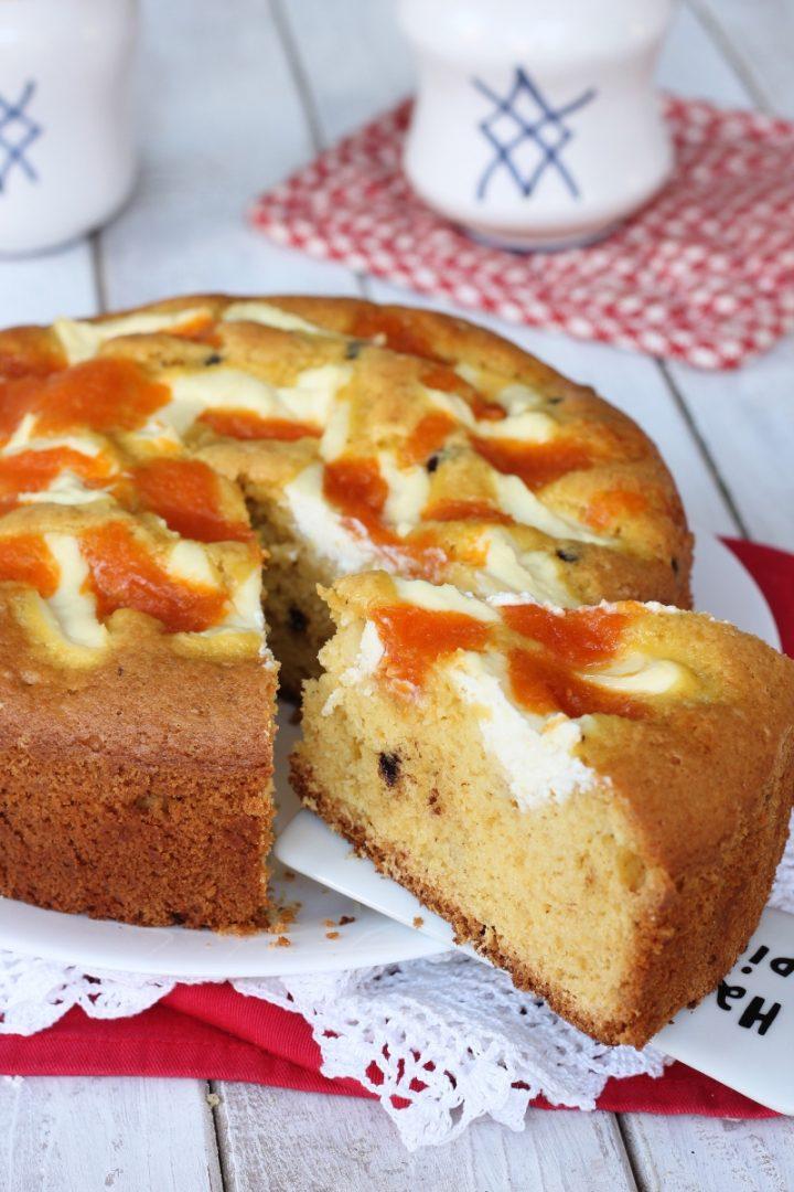 Torta di zucca con crema di ricotta | ricetta torta zucca ricotta marmellata