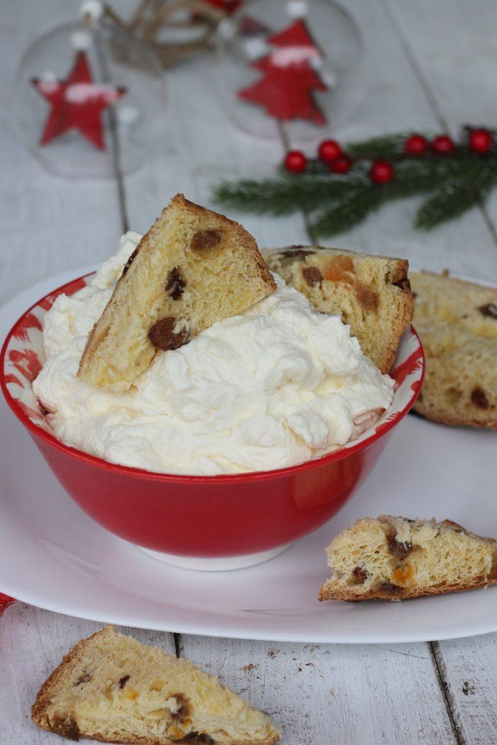 Crema al mascarpone per panettone e pandoro | ricetta crema per Natale