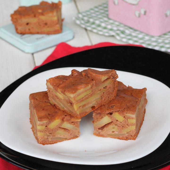 Ricetta torta fit alle mele | dolce light senza zucchero burro olio e glutine