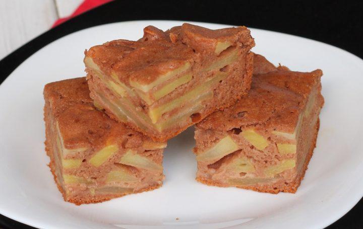 Ricetta Dolci Fit.Ricetta Torta Fit Alle Mele Dolce Light Senza Zucchero Burro Olio E Glutine