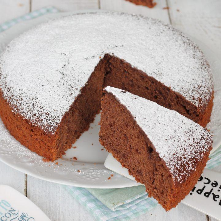 Torta allo yogurt al cacao | ricetta torta al cioccolato con impasto allo yogurt