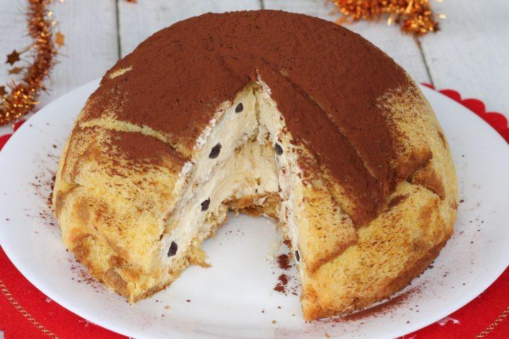 Ricetta Dolce Zuccotto.Zuccotto Pandoro Mascarpone Caffe Ricetta Dolce Di Natale Con Pandoro