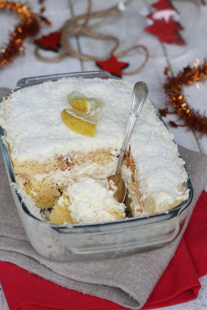 Tiramisù di pandoro al limone   ricetta tiramisu dolce di Natale con Pandoro