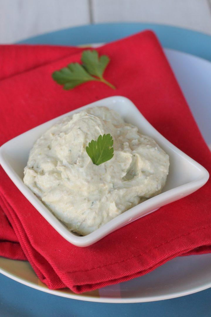 MOUSSE DI CAPPERI ricetta salsa cremosa per tartine e crostatine salate