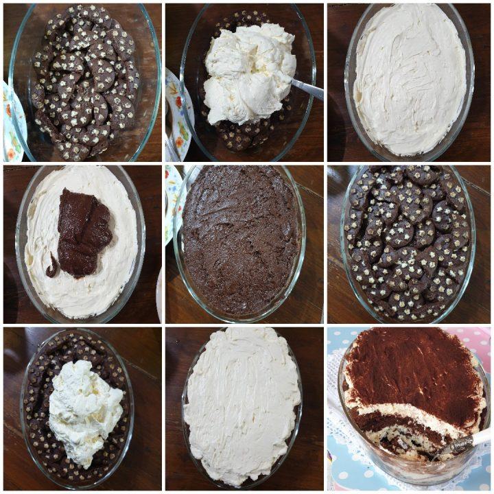 Tiramisù pan di stelle e Nutella | ricetta tiramisu' panna montata e biscotti