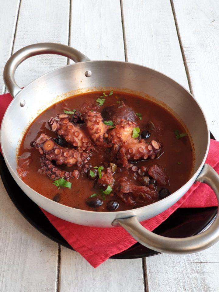 Polpo alla luciana | ricetta originale tipica cucina napoletana tradizionale