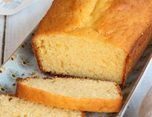 PLUMCAKE PHILADELPHIA ALL' ARANCIA