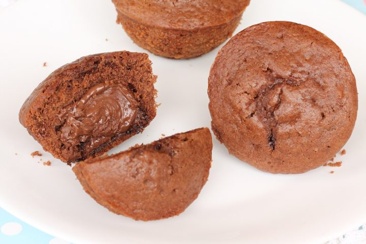 Tortine mascarpone e Nutella al cacao | ricetta veloce dolce senza burro