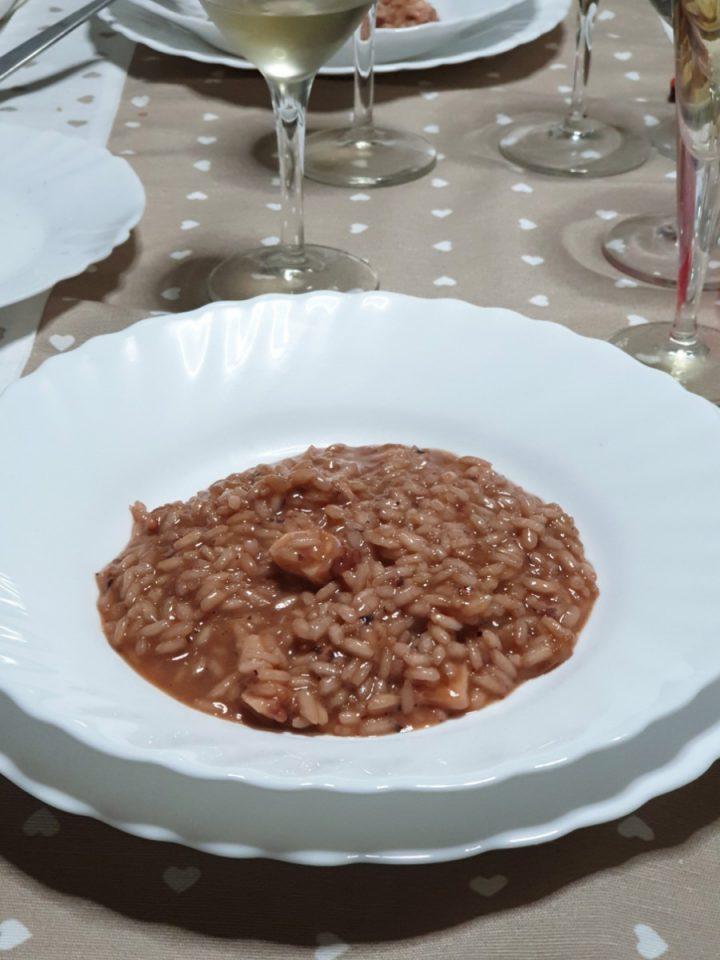Risotto all' acqua di polpo | ricetta risotto cremoso con il polpo