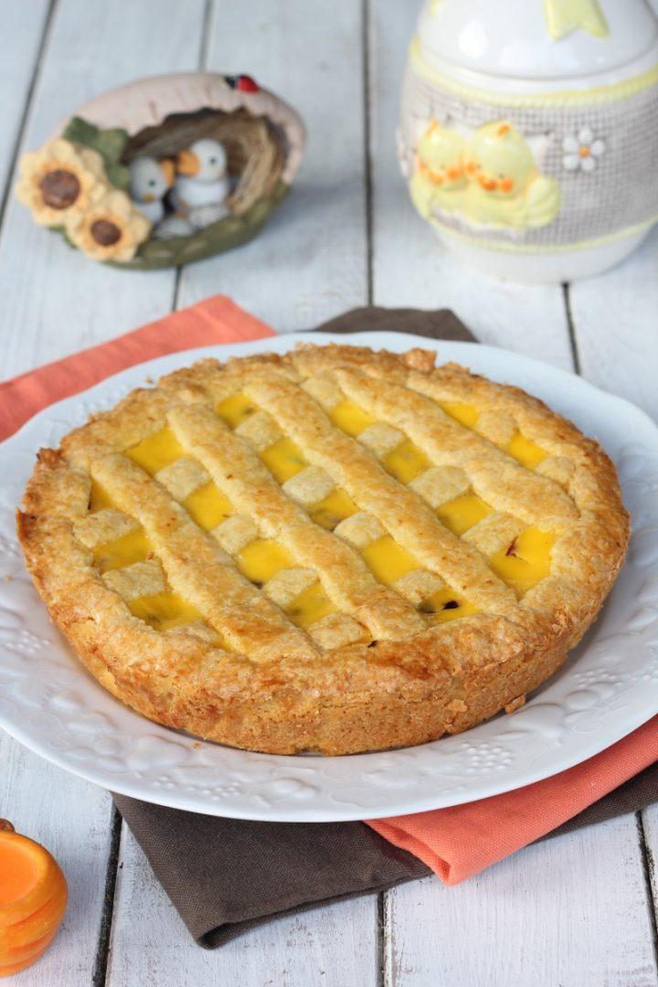 PIZZA DI RICOTTA PUGLIESE | ricetta dolce di Pasqua | crostata foggiana