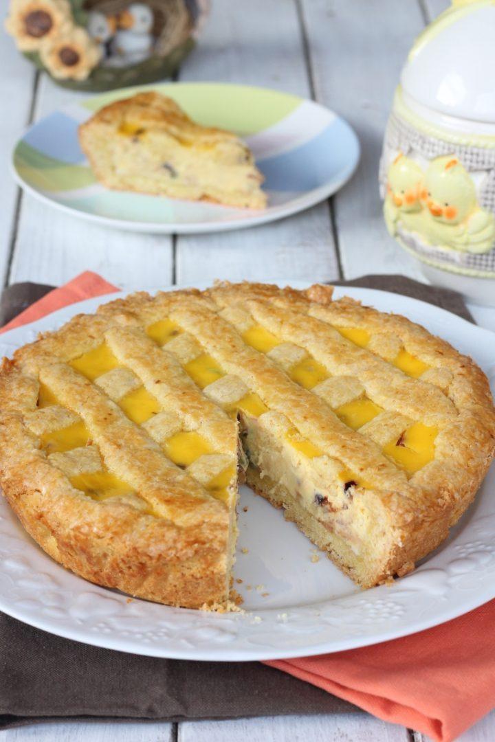 PIZZA DI PASQUA PUGLIESE | ricetta crostata dolce foggiana con ricotta