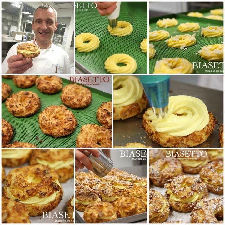 Zeppole al forno di Luigi Biasetto | ricetta zeppole innovative di Biasetto