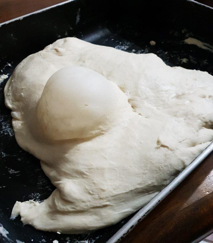 Ricetta pane fatto in casa   come cuocere la pasta di pane nel forno di casa