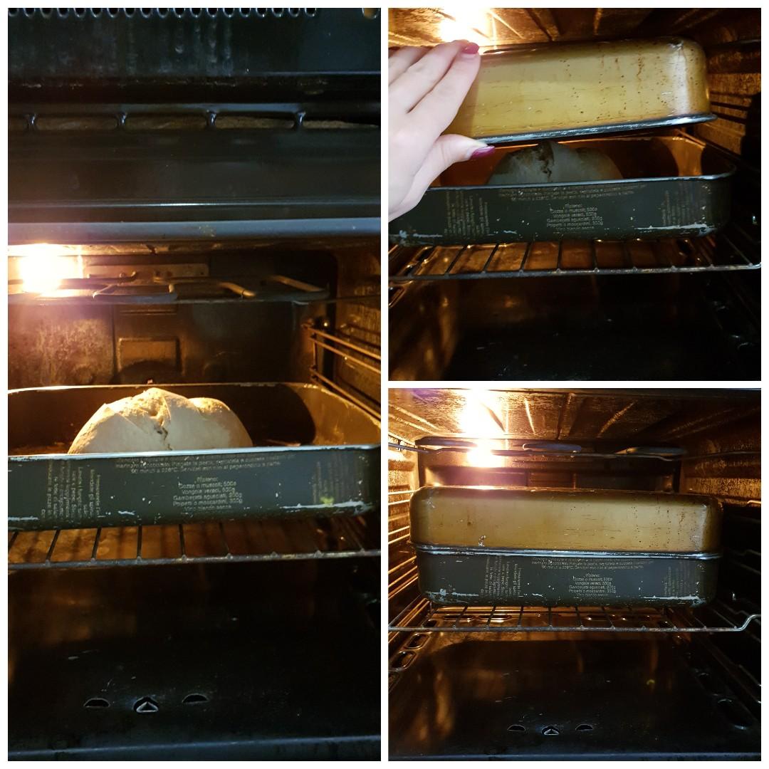 Ricetta pane fatto senza impasto cotto in pentola