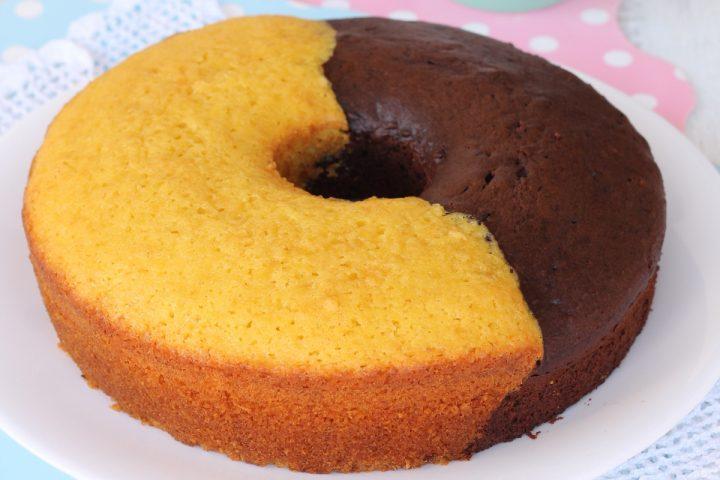 CIAMBELLONE ABBRACCIO | ricetta dolce morbido vaniglia e cacao