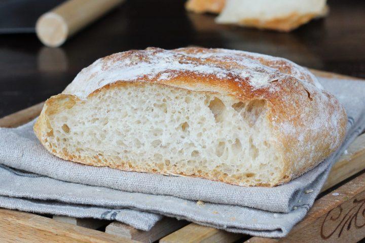 Pagnotta di pane casereccio |ricetta pane fatto in casa con solo 1g di lievito