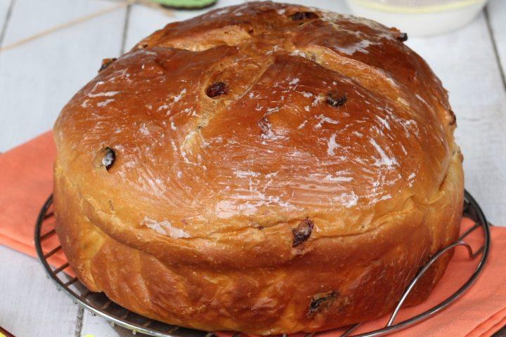Ricetta pagnotta di Pasqua romagnola   dolce tradizionale tipico pasquale
