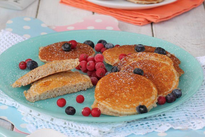 Ricetta PANCAKES FIT LIGHT pancakes low carb morbidi senza zucchero