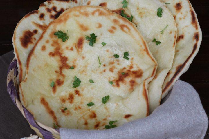 Ricetta Per Naan Pane Indiano.Pane Naan Ricetta Originale Naan Bread Indiano Tradizionale