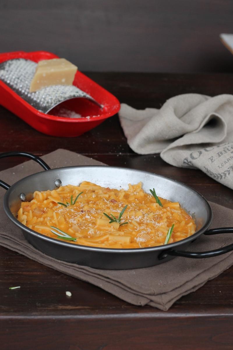 PASTA AI FAGIOLI INVISIBILI ricetta pasta mista in crema di fagioli veloce