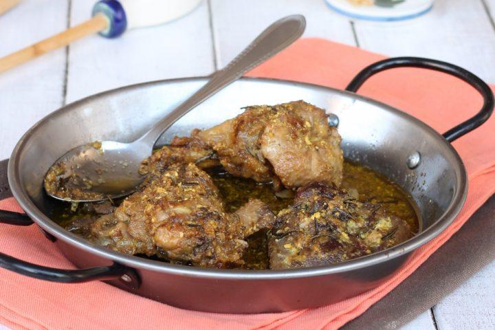 POLLO IN FRICASSEA ricetta originale toscana | pollo con tuorli e limone
