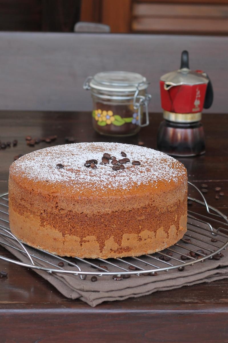Ricetta TORTA ALTISSIMA al CAFFE' | torta con impasto montato al caffè