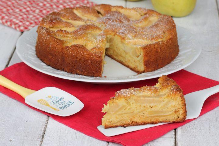 TORTA DI MELE DELLA NONNA ricetta torta di mele senza burro