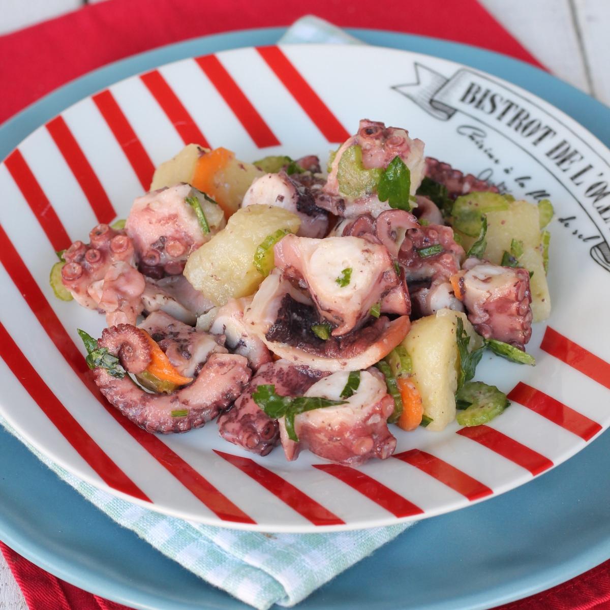 ricetta insalata di polpo e patate | antipasto freddo