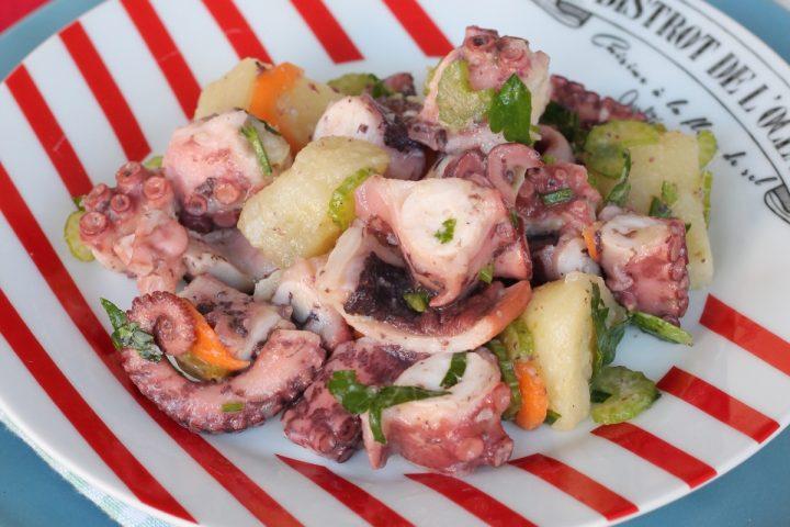 POLPO CON PATATE ricetta insalata di polpo e patate | antipasto freddo