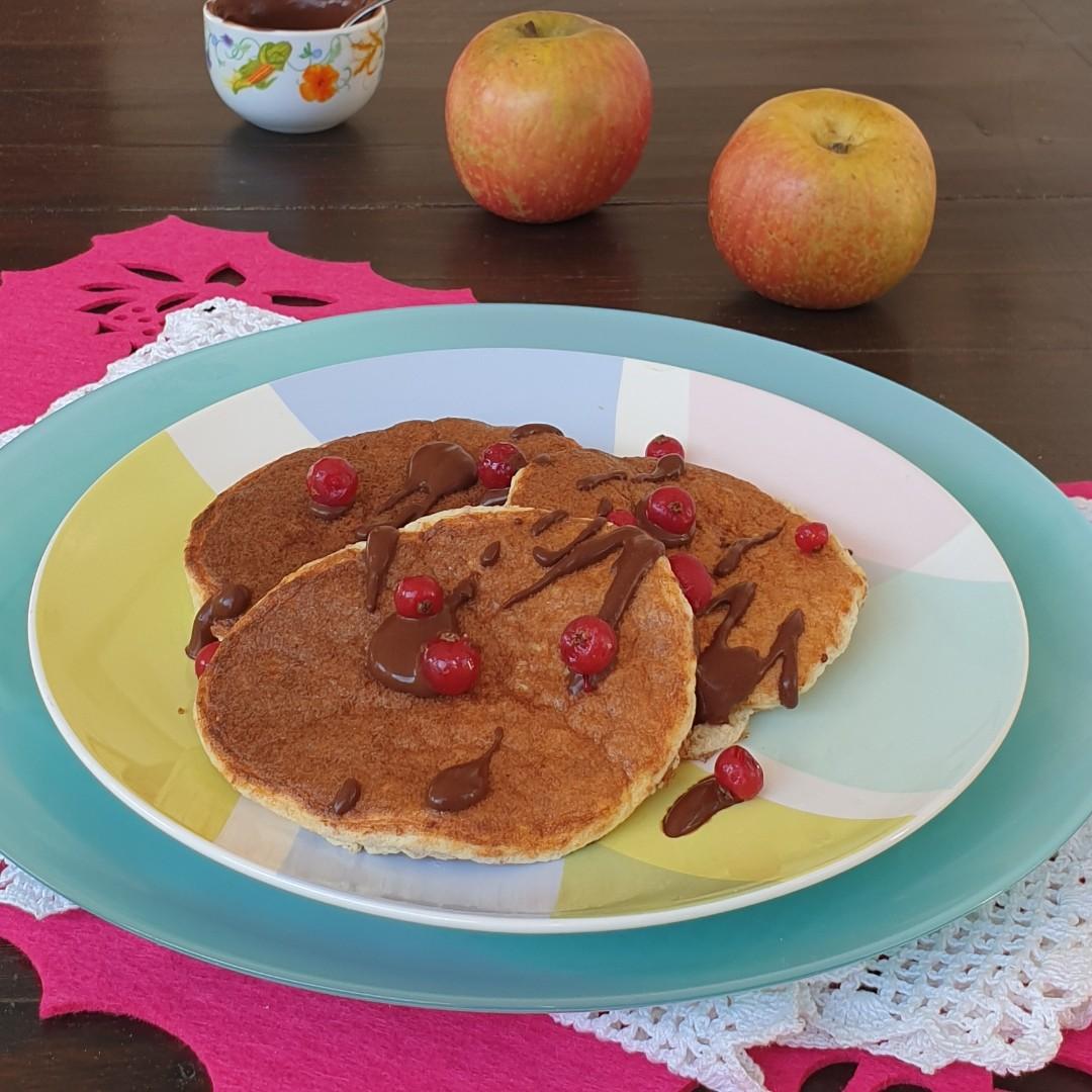 ricetta pancakes con farina integrale fit light